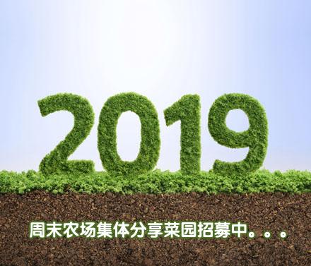 周末农场2019年集体分享菜园招募中