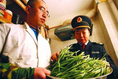 青岛检出1930公斤韭菜农药超标 9名市民中毒