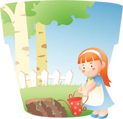 美研究表明 适量劳动可使孩子快乐