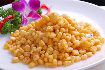 水果玉米美食——金沙玉米