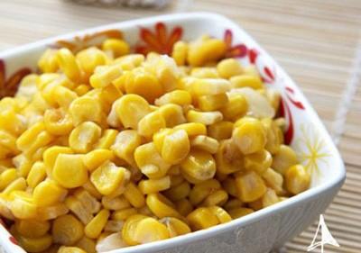 水果玉米美食——素炒玉米