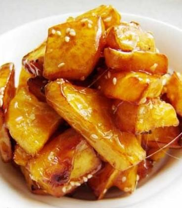 本周推荐美食——拔丝红薯