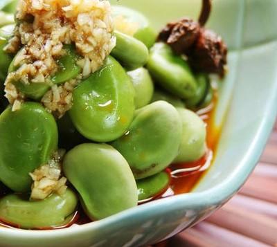 24节气饮食法——香辣蒜泥蚕豆