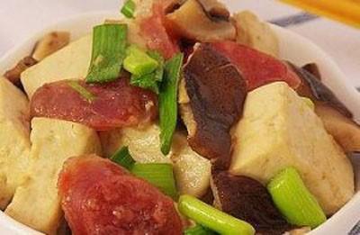 24节气饮食法——香菇爆豆腐